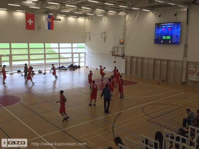 瑞士 Bellinzona Seconday School Basketball Stadium